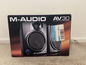 M-Audio AV30 speakers for Sale in Norcross, GA
