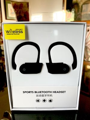 Black Sport Wireless Headphones for Sale in Norco, CA