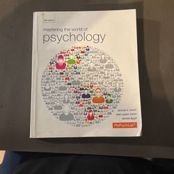 Psychology 5th Edition By Samuel E Wood for Sale in Buena Park,  CA