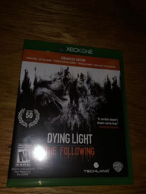 Dying light the following for Sale in Oceanside, CA