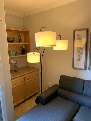 Three Head Floor Lamp + 3 Energy Saver Lightbulbs for Sale in Los Angeles, CA