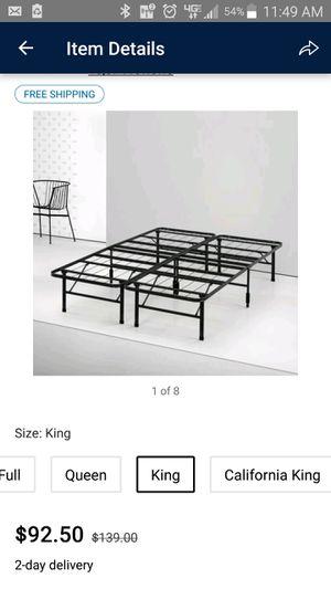 King size for Sale in Hazlehurst, GA