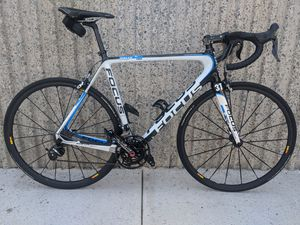 READY TO RIDE - Focus Izalco Pro 3.0 Road Race Bike - XL 58cm Frame - Dura Ace 7900 2 x 10 Speed Groupset - MAVIC Krysium SLR Wheelset for Sale in Fountain Valley, CA