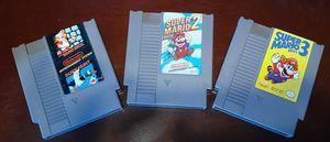 Nintendo NES Mario bros games for Sale in Fresno, CA