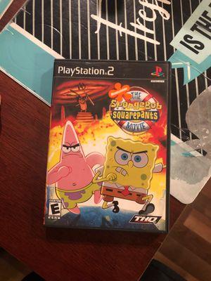 Spongebob Squarepants Movie PS2 for Sale in Everett, WA