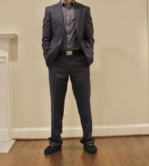 Mens suit - UTES (Made in Turkey), 38 Jacket, 31x32 Pants for Sale in Fairfax, VA