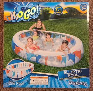 Bestway H2OGO Inflatable Elliptic Pool for Sale in Tampa, FL