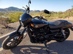 Harley Davidson XG500 Street 500 with Riding Jacket and Modular Helmet for Sale in Phoenix, AZ