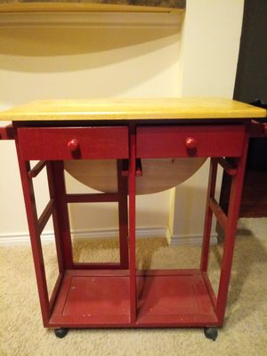 Red Kitchen Table for Sale in Ashburn, VA