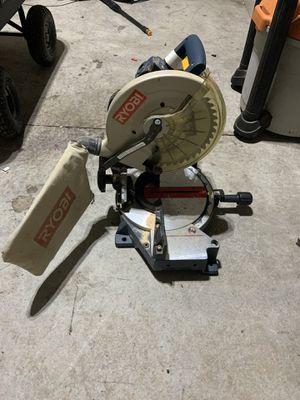 Ryobi chop saw for Sale in Cumming, GA
