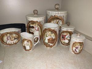 Antique kitchen canister set for Sale in Sebring, FL