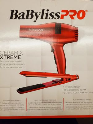 New babyliss pro ceramix hairdryer combo for Sale in Vista, CA