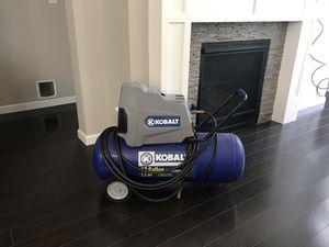Kobalt 17 gallon 1.5 hp air compressor for Sale in Snoqualmie, WA