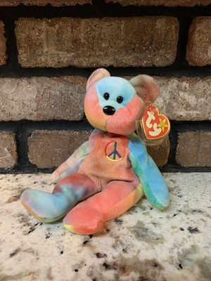 """Peace"" bear Beanie baby for Sale in Fresno, CA"