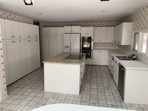 Very large kitchen with granite island and stove included for Sale in Farmington Hills, MI