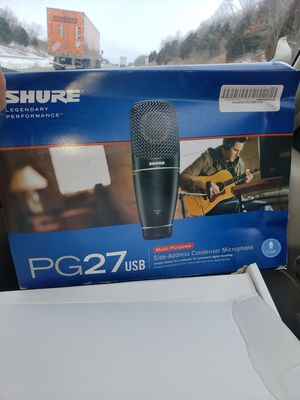 Shure condenser microphone for Sale in Sarcoxie, MO