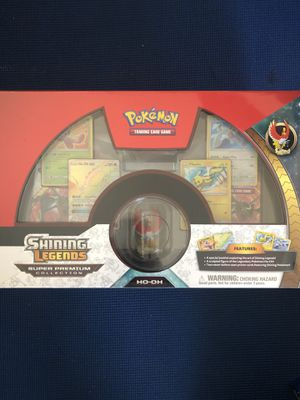 Pokemon TCG: Shining Legends Super Premium Ho-Oh Collection - BRAND NEW for Sale in Redlands, CA