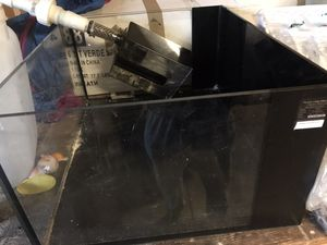 Used aquarium tank with filter bocce for sale for Sale in Denver, CO
