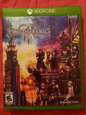 Kingdom Hearts Xbox One Game for Sale in Tolleson, AZ
