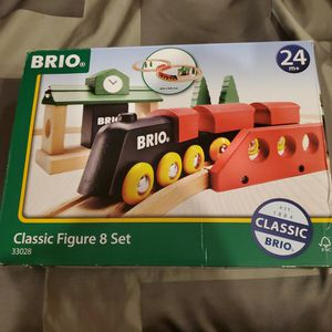 Wooden Train Set Brio Brand Well Made! for Sale in Levittown, NY