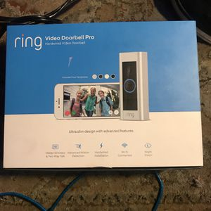 Ring Video Doorbell Pro Brand New, Never Used for Sale in Waddell, AZ