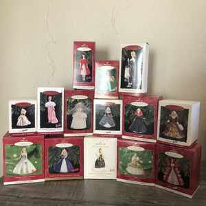 Vintage Hallmark Barbie Keepsake Ornaments for Sale in Winchester, CA