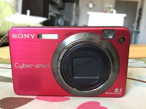 Sony Cybershot red digital camera for Sale for sale  Los Angeles, CA