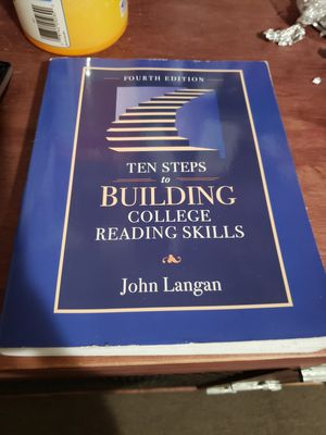 ten steps to building college reading skills for Sale in BETHEL, WA