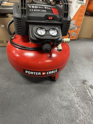 Porter Cable Pancake 6 Gal Compressor for Sale in Corona, CA