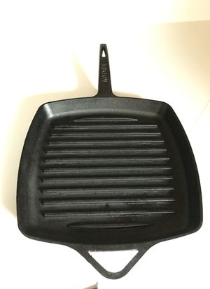 Cast Iron Grill Pan for Sale in Gambrills, MD