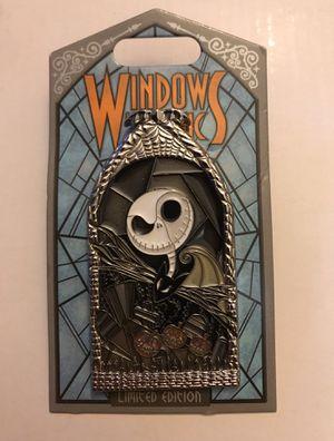 Jack Skellington Windows of Magic LE 2000 Pin for Sale in Irvine, CA