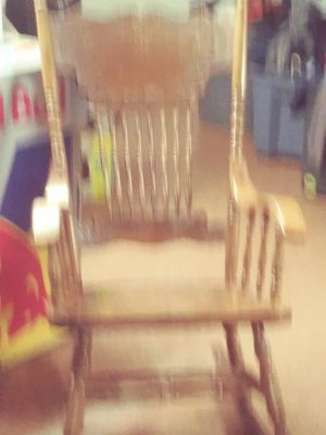 All solid wood rocking chair for Sale in St. Louis, MO