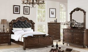 New Beautiful Queen Bedroom Set for Sale in Orlando, FL
