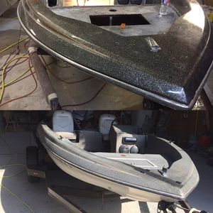 1984 skeeter bass boat 16ft for Sale in Fort Worth, TX