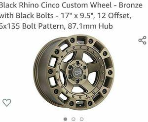 """Black Rhino Cinco """"bronze """" for Sale in Virginia Beach, VA"""