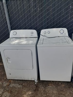 AMANA WASHER/DRYER GAS FOR SALE¡!¡ for Sale in Houston, TX