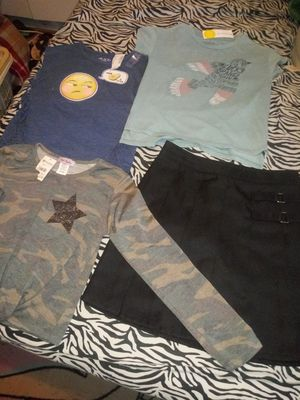 Uniform skirt & other new shirts for Sale in Palmetto, FL