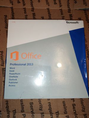 Microsoft Office professional 2013 for Sale in Los Angeles, CA