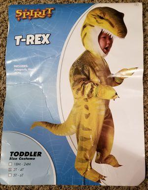 T-Rex costume 2t-4t for Sale in Burien, WA