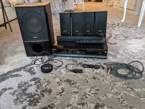 Sony blu ray home theater system BDV-E300. Open to offers! for Sale in St. Petersburg, FL