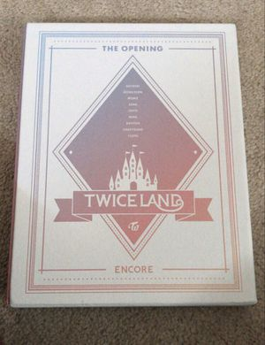 TWICELAND The Opening Encore DVD 2Disc+Photobook+9Photocards+Lenticular Twice Kpop for Sale in Hillcrest Heights, MD