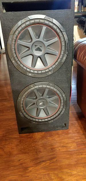 Kicker Comp VR 2 12inch speakers for Sale in Perris, CA