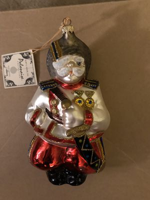 Polish Blown glass Christmas ornament for Sale in Portland, OR