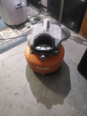 Ridgid pancake air compressor for Sale in Peoria, AZ