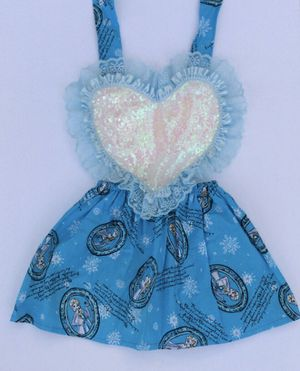 Elsa dress size 2t and 4t available for Sale in Fullerton, CA