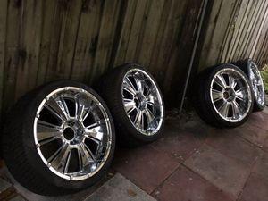 22 Inch Chrome Rims for Sale in Oakland Park, FL