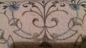 King size cotton quilt/bed spread. for Sale in Newcastle, WA
