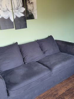 Black 3 Seater Sofa for Sale in Abingdon,  MD