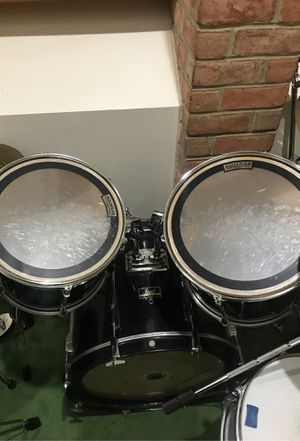 Pearl Black drums for Sale in West Springfield, VA