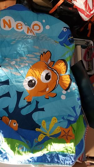 Finding Nemo toddler bedding 3 pc set for Sale in Downey, CA